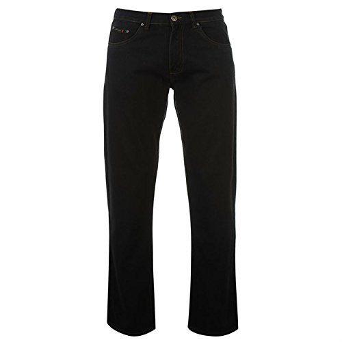 Pierre Cardin Plain Jeans Mens 5 Pocket Design Regular Fit with Single Button Fastening And Zip Fly - Size 32W R - Black Pierre Cardin http://www.amazon.co.uk/dp/B01B53VO14/ref=cm_sw_r_pi_dp_eyLWwb1RJYDDC
