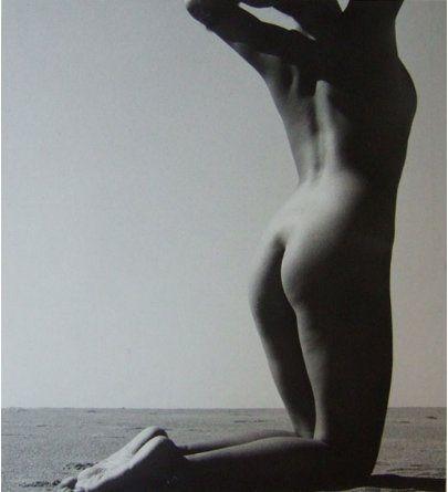 Shoji Ueda Nude in the Dunes, ca. 1950 by noldenh, via Flickr