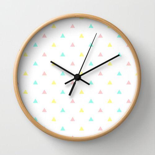 22 mejores im genes sobre relojes en pinterest patrones - Reloj pegado pared ...