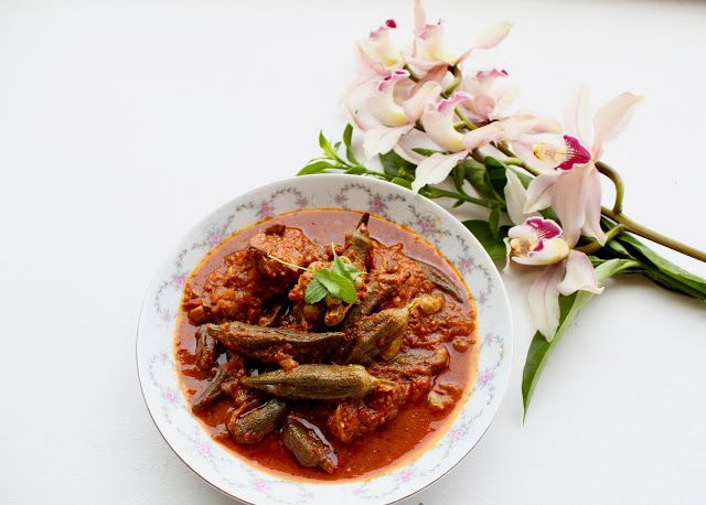 Savorychicks: Okra Stew