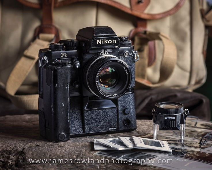 A robust modern classic combination, the 1980s Nikon F3 and MD-4 motordrive. Nikon 50mm f1.8 lens. Prints available of this image via www.jamesrowlandphotography.com