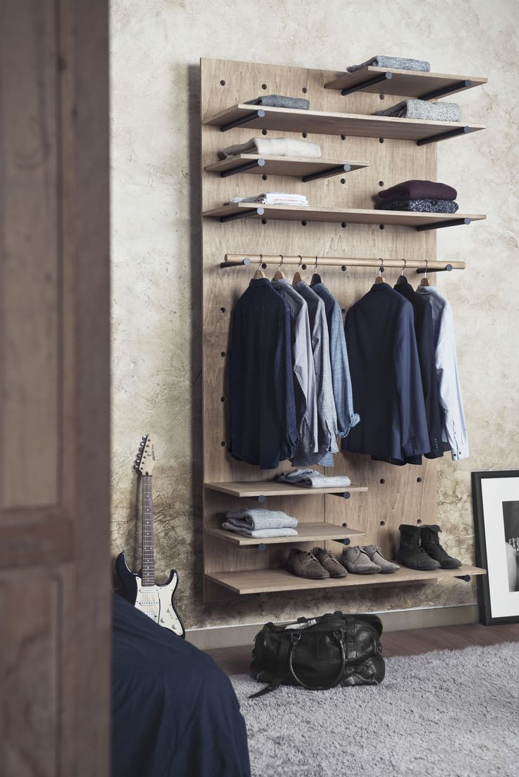 Great modular wardrobe by Foarm! #Foarm #shelves