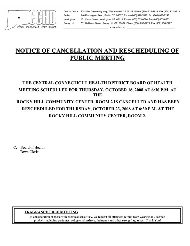 Event Cancellation Notice Sample - Invitation Templates - cancellation notice form