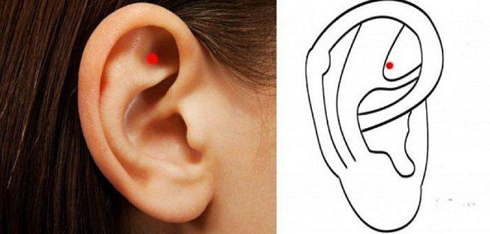 Toto sa stane, keď si budete masírovať tento bod v uchu. Úžasné!