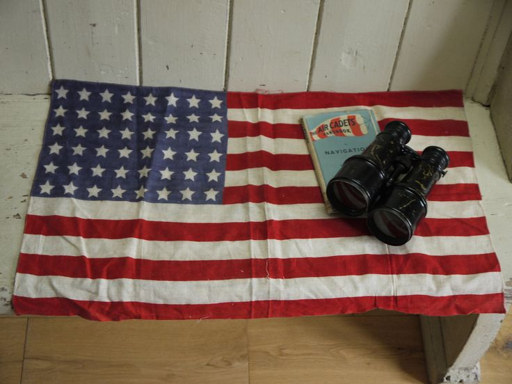 Vintage American 48 Star Flag - Circa 1940s by VintiqueTree on Etsy