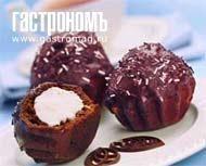 Шоколадные кексы с творожной начинкой. Пошаговый рецепт с фото на Gastronom.ru