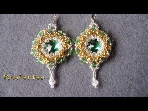(71) # DIY - Pendientes estrella de los vientos# DIY - Wind Star Earrings - YouTube