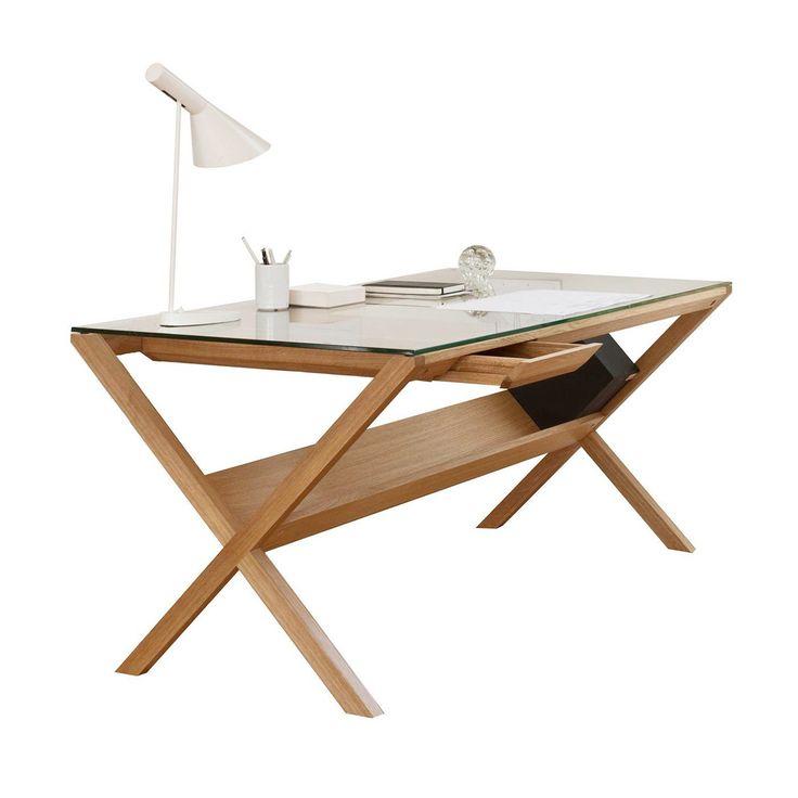 Oak Desk, Modern Desk