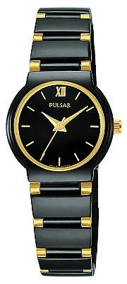 Pulsar Women's Black Dress Sport Watch PTC367