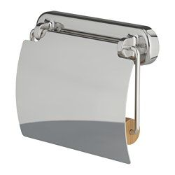 VOXNAN, Toilet roll holder, chrome effect
