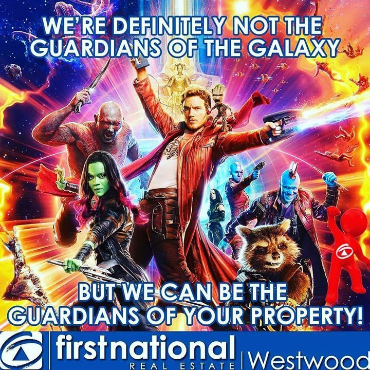 We're not the Guardians of the Galaxy but we can be the Guardians of your Property!  #fnrewestwood