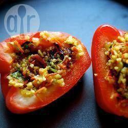 Foto della ricetta: Peperoni ripieni di bulgur e verdure