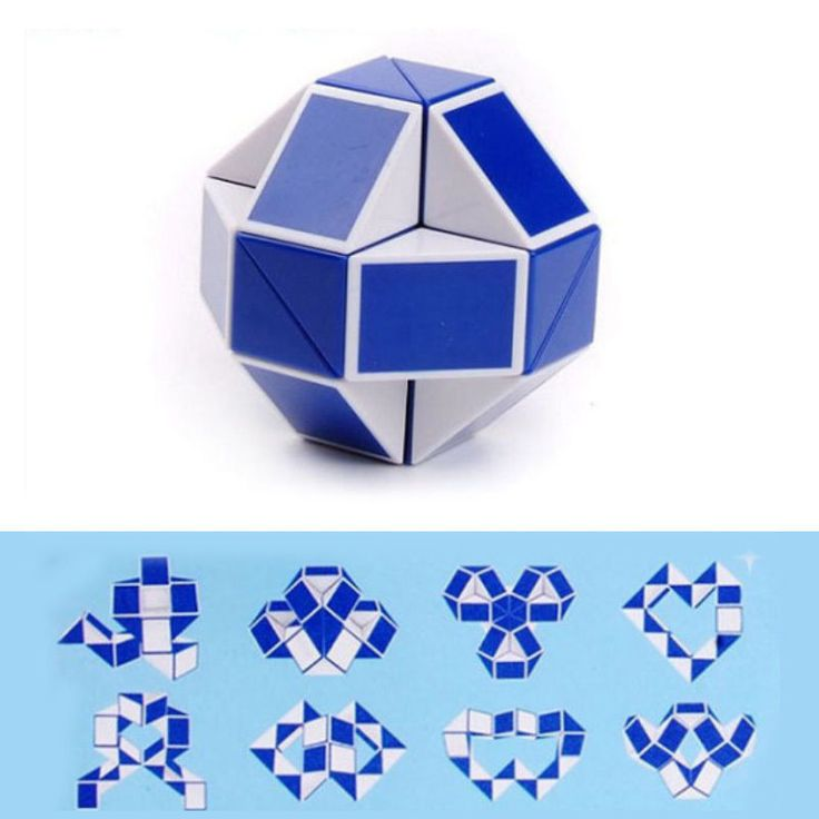 Cheap Wholesales 0.78USD/Piece Mini Creative Magic Snake Shape Toy Game 3D Cube Puzzle Twist Puzzle Toy Variety Twist Kids Game Puzzle Cool