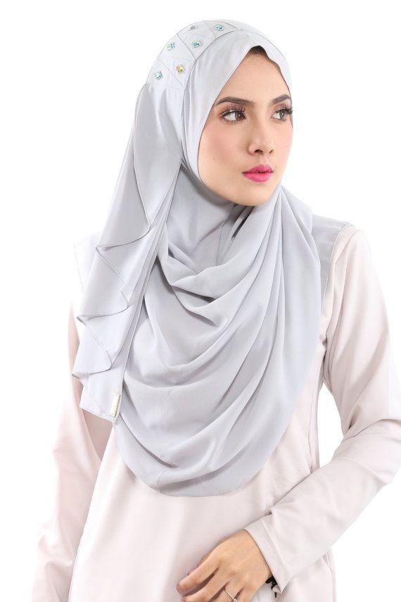 Instant HIjab/Slip On CARMILA Aida Naim Instant Shawl By by clixy