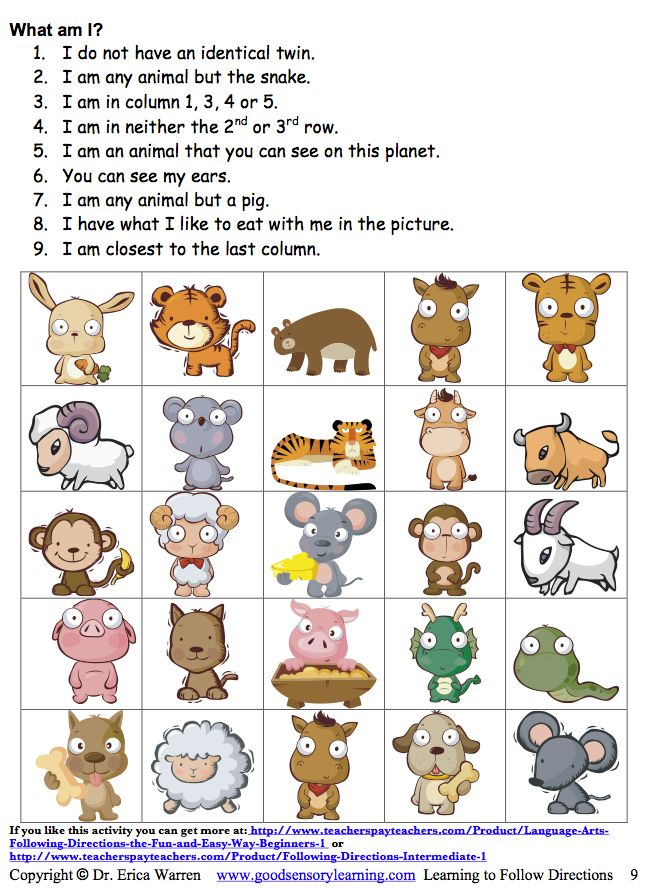 best following directions images language classroom bies too following directions following written and verbal instructions can be a fun