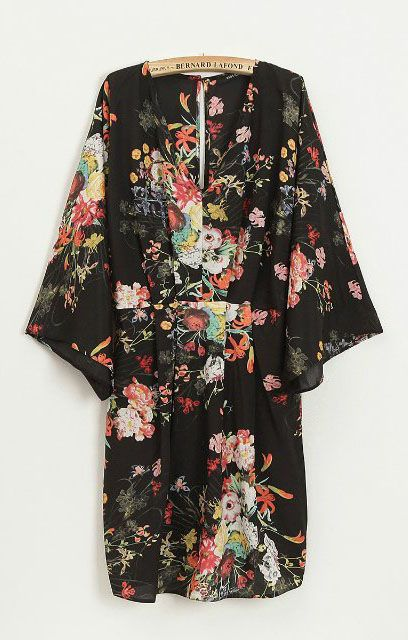 Went to SF and fell in love with a Kimono. Went to NYC and bought the dam Kimono. <3