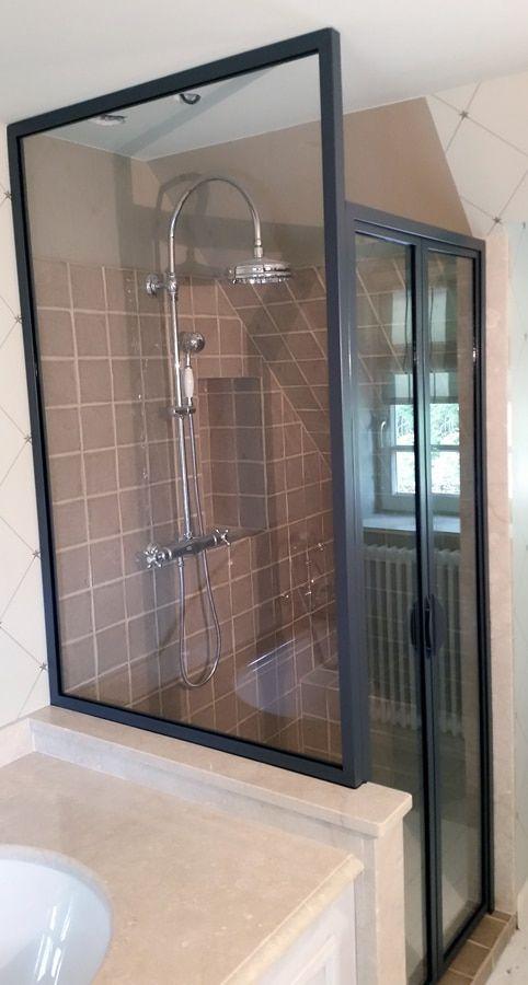 Emejing verriere salle de bain castorama photos for Verriere interieure pas chere