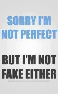 sorry....Open Book, The Real, Make Mistakes, Motivation Quotes, Truths, Fake Friends, Perfect, Fake People, True Stories