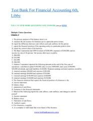 download Test Bank Financial Accounting 6th, Libby.pdf