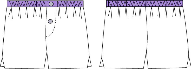 Description : Ce kit de lingerie pour homme est composé de plusieurs patrons : – FRISSON le caleçon : pourvu d'une taille élastiquée et d'une braguette à bouton fermée au niveau de la taill…