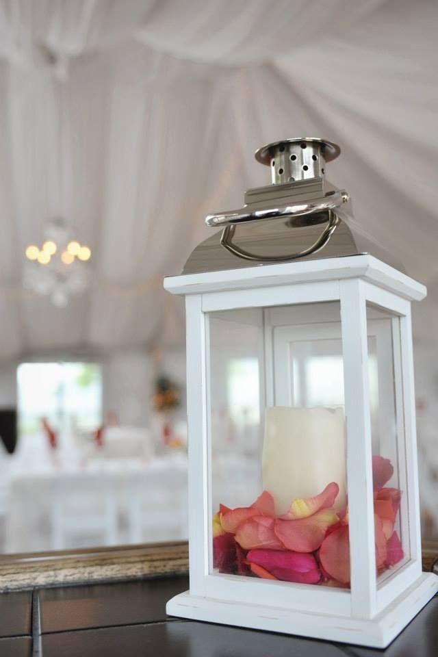 Vintage wedding lantern centerpieces my