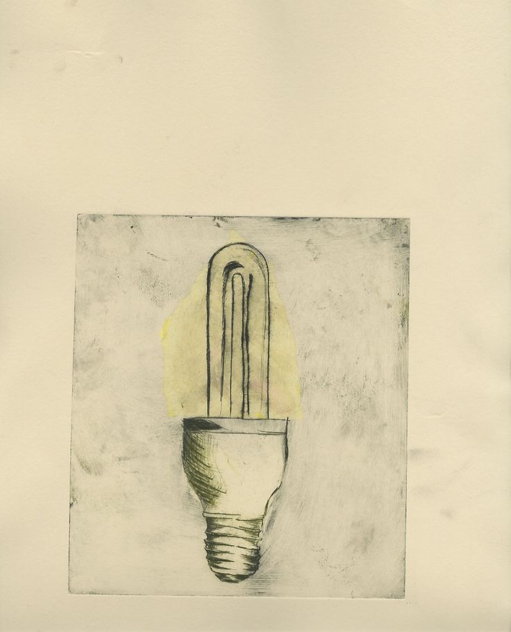 Etching of my object with colour