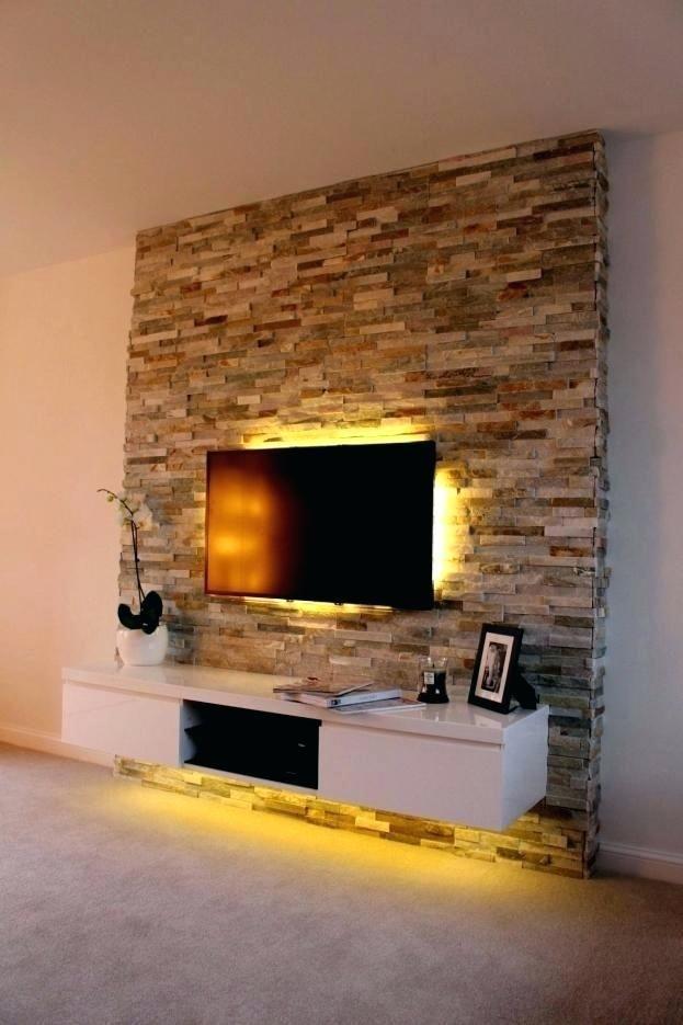 Wohnzimmer Wand Kaufen: Wohnzimmer Steinwand Tv