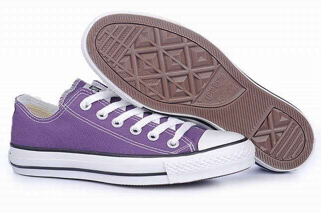 Converse All Star Ox Lakers Purple
