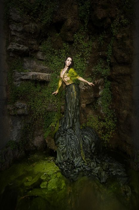 dryadPhotos, Inspirationmodel Photography, Green Mothers, Weiss Photography10, Martin Weiss, Christian Martin, Magic, Well, Fairies Tales