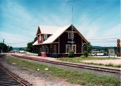 RAIL LINE: CN Renfrew Subdivision CITY: Barry's Bay MILEAGE: 96.80