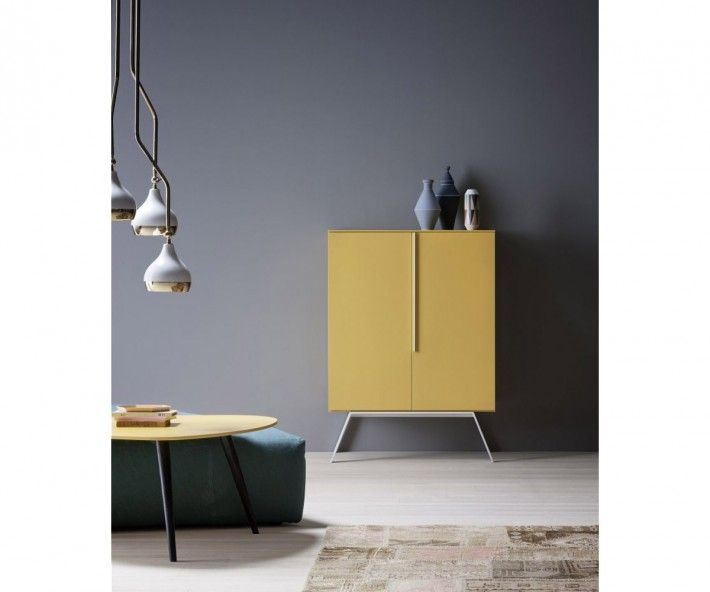 novamobili highboard cleo furniture yellow and italia. Black Bedroom Furniture Sets. Home Design Ideas
