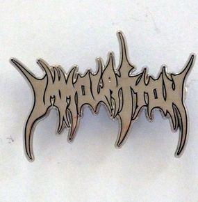 Immolation Logo Pin Badge
