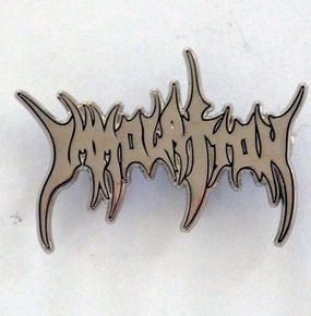Immolation Logo Pin Badge