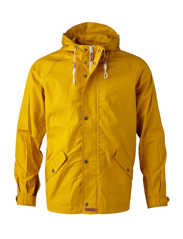 Waxed Canvas Light Jacket   Knowledge Cotton Apparel