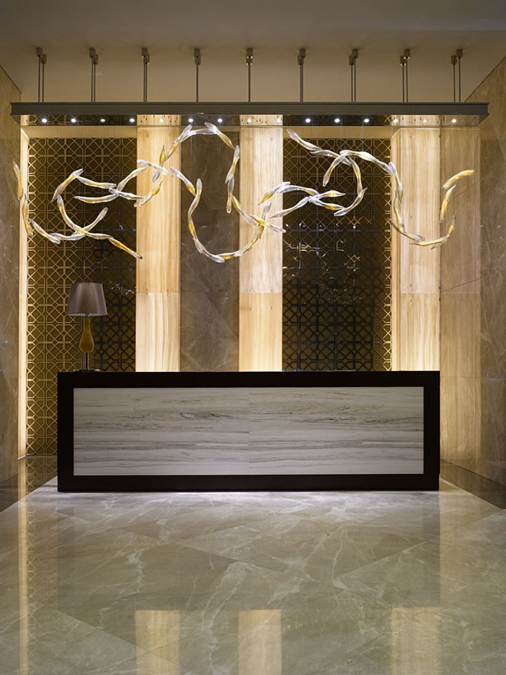 25 best ideas about modern reception desk on pinterest for Art hotel design