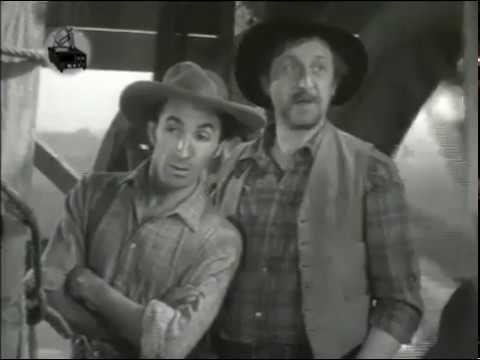 ALEGRE E FELIZ - filme de faroeste/western/musical com Randolph Scott
