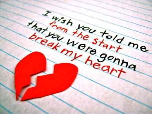 broken heart sad quotes thoughts saying for him her 9