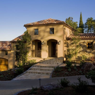 17 images about house color schemes on pinterest stucco for Tuscan home exterior colors