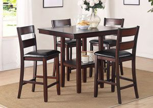 Colbert 5 Pack Counter Height Table Set
