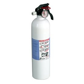 America's Test Kitchen top-rated fire extinguisher. We got a fire extinguisher for our wedding and thought it funny, but it helped us save on renter's insurance. A useful thing a newlywed couple might not think of! (And hopefully never has to use!)