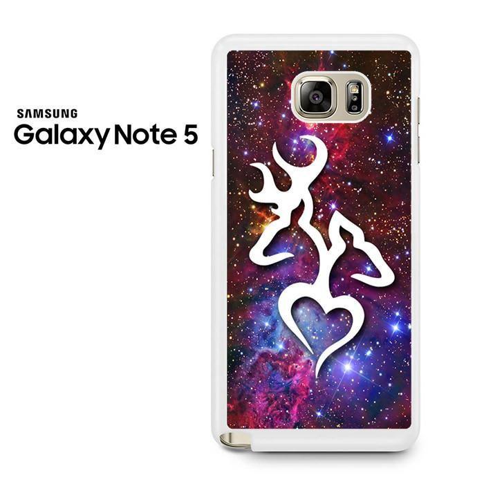 Browning Deer Love Galaxy Nebula Samsung Galaxy Note 5 Case