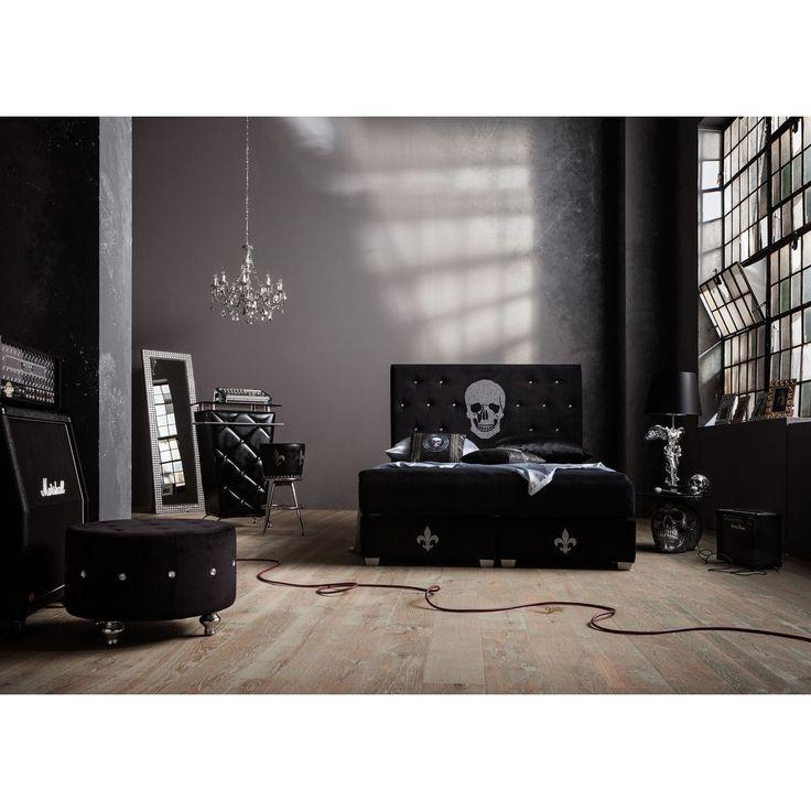 die 25 besten boxspringbett schwarz ideen auf pinterest schwarze schlafzimmer boxspringbett. Black Bedroom Furniture Sets. Home Design Ideas