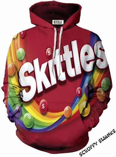 209f8e9d5 Skittles Rainbow Pullover Hoodie in 2019 | ♡F I T S S S♡ | Hoodies ...