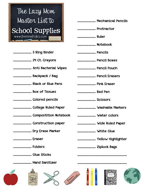 Best 25+ High school supply list ideas on Pinterest Highschool - printable office supply list