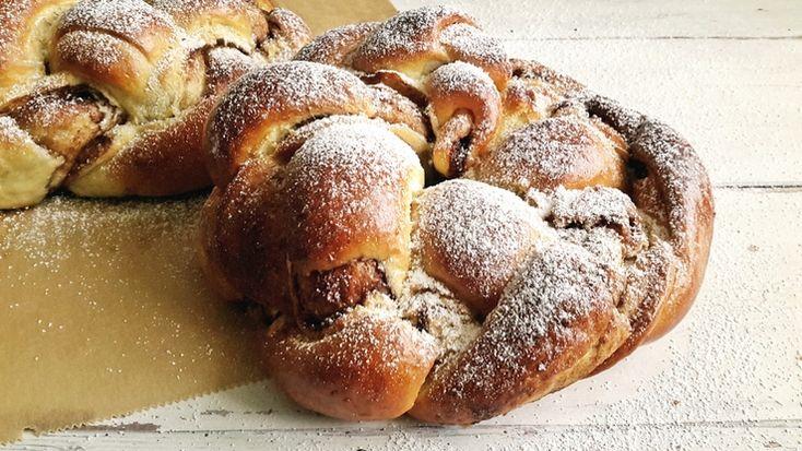 Csokis-kókuszos töltött kalács: az édenkert íze #recept #desszert #kalács