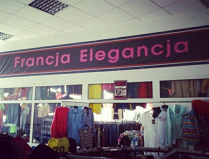 """Catchy name for second hand shop - """"France Elegance"""" is very good name :)"""