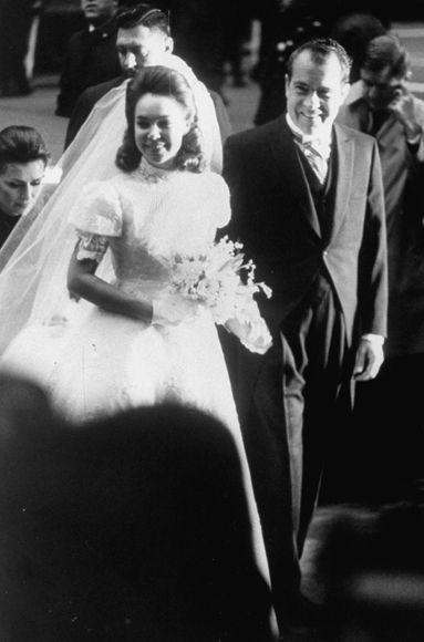 Dwight David Eisenhower II and Julie Nixon   December 22, 1968