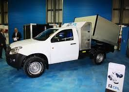 Image result for dmax chassis cab tipper