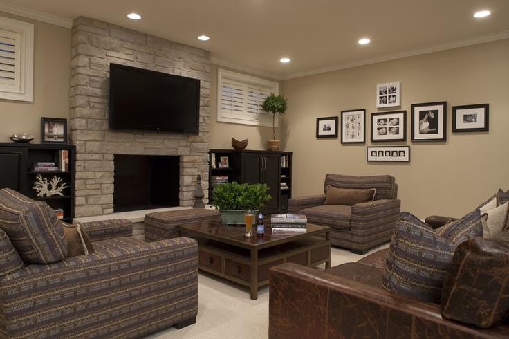 Great basement color scheme to lighten it up. Shaker beige  Ideas for ...