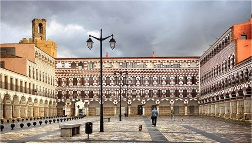 Badajoz. Plaza Alta (Spain).